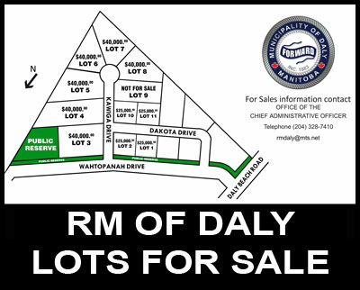 RM of Daly Lots for Sale
