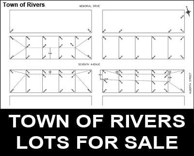 Town of Rivers Lots for Sale