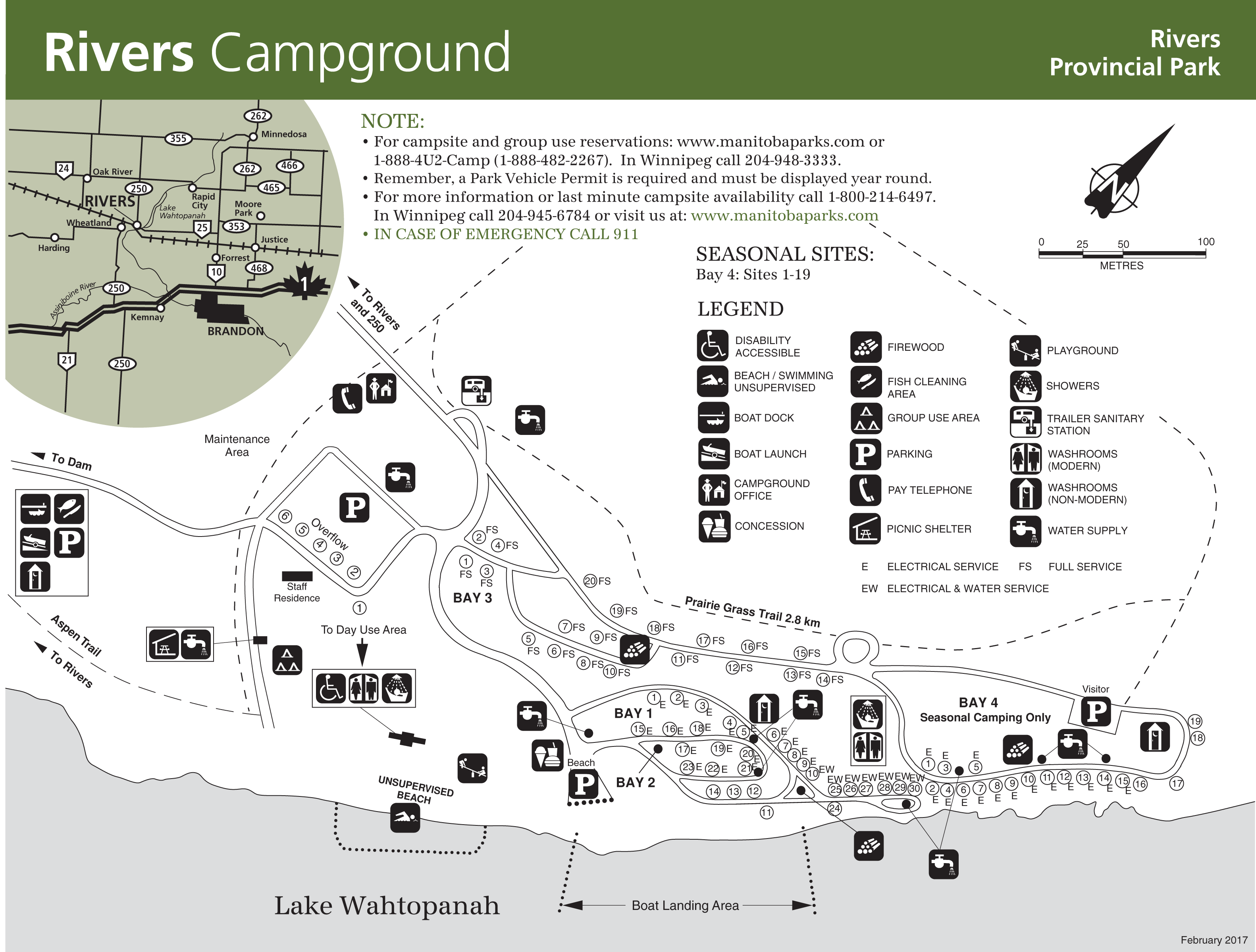 rivers Provincial Park Map-2