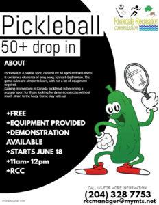 Drop in Pickleball