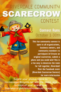Riverdale Scarecrow Contest