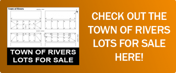 Town of Rivers Lots For Sale Notice