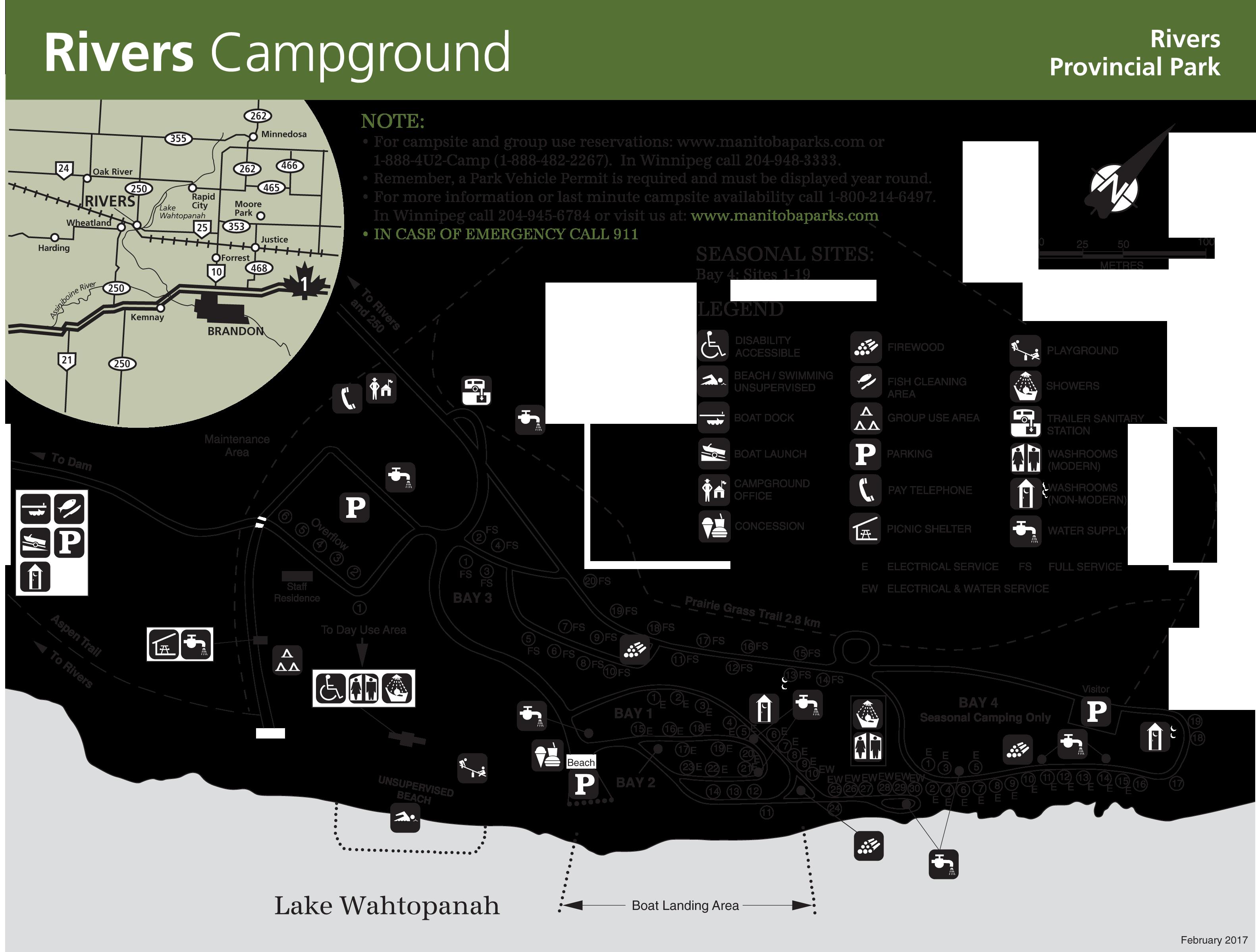 rivers Provincial Park Map-2